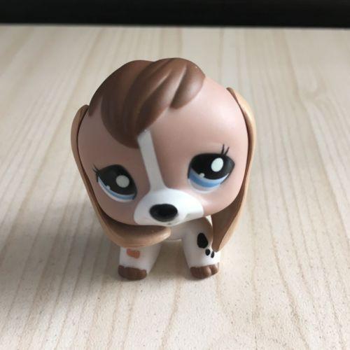 Lps Littlest Pet Shop 2207 Lps White Tan Beagle Dog Figure Lps