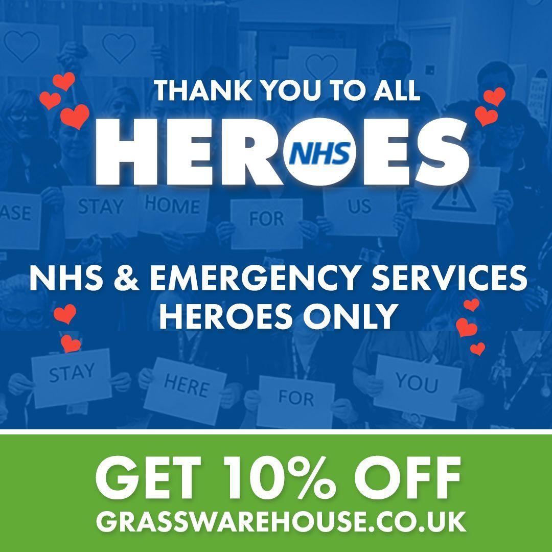Nhs Heroes Get 10 Off All Artificial Grass As A Thank You For The Efforts Of Nhs And Emergency Services Staff I In 2020 Artificial Grass Nhs Emergency Service