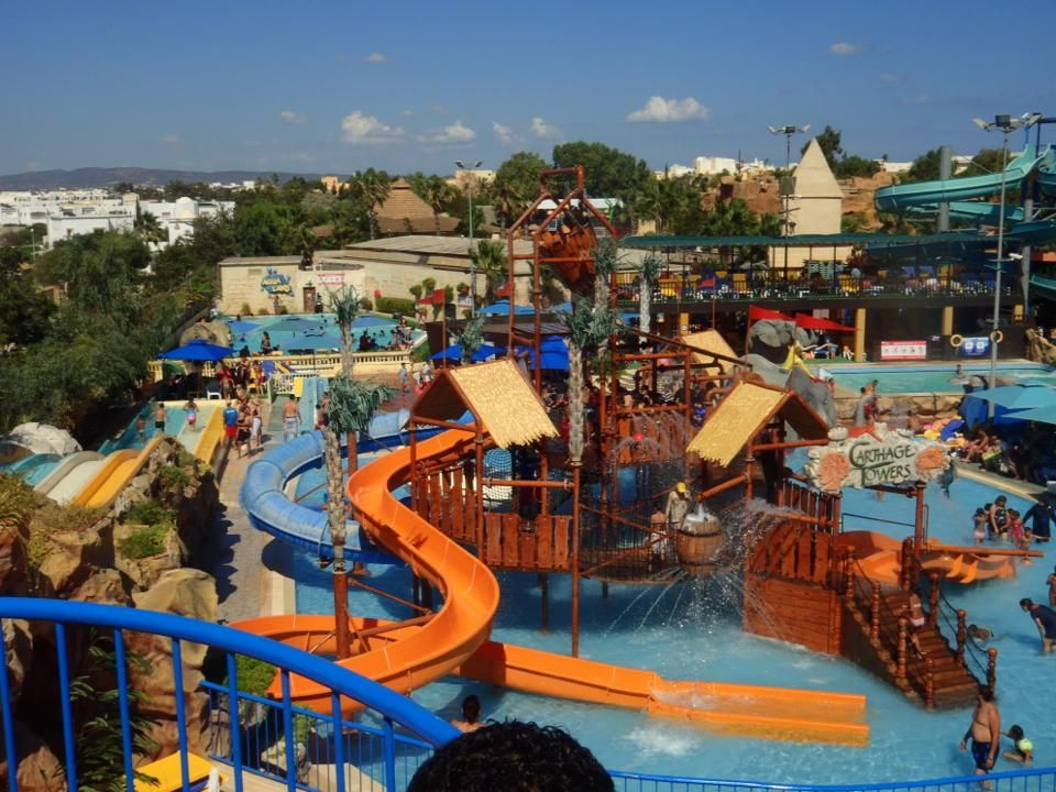Carthage land Tunisie : Un parc d'attractions familier par excellence situé  à Hammamet.