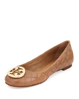 08d8c6081ec Quinn Quilted Ballerina Flat Beige | Designer Shoes, Boots, Sandals ...