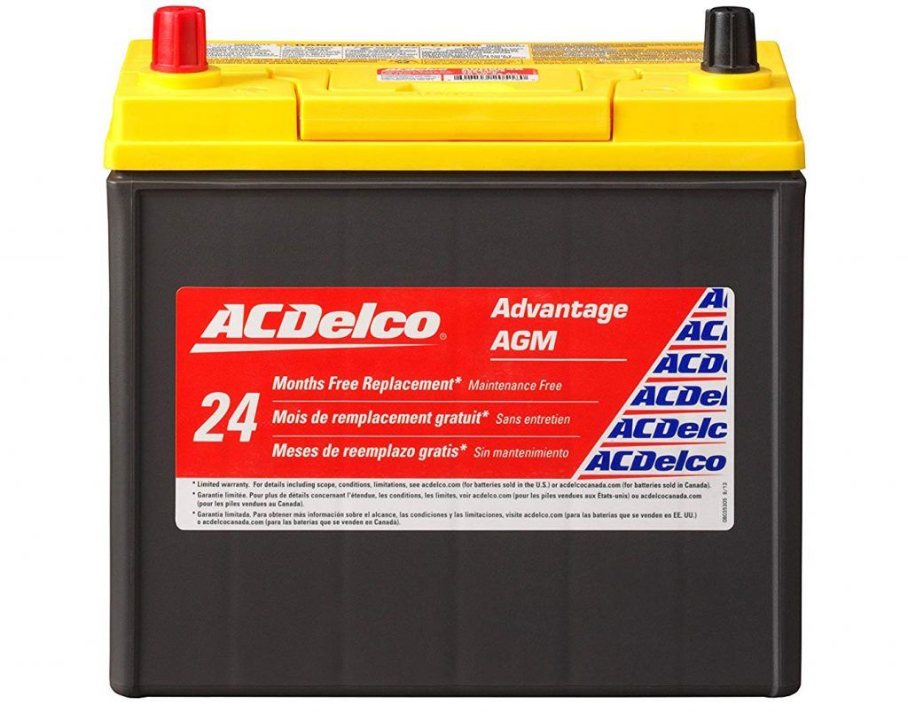 Acdelco Acdb24r Advantage Battery Acdelco Car Batteries Car Battery
