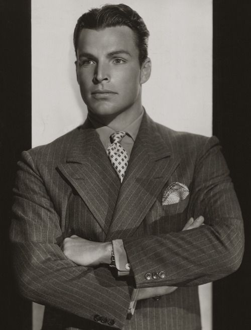 636066cc51a A perfect example of a classic men s suit from the 1930s. Buster ...
