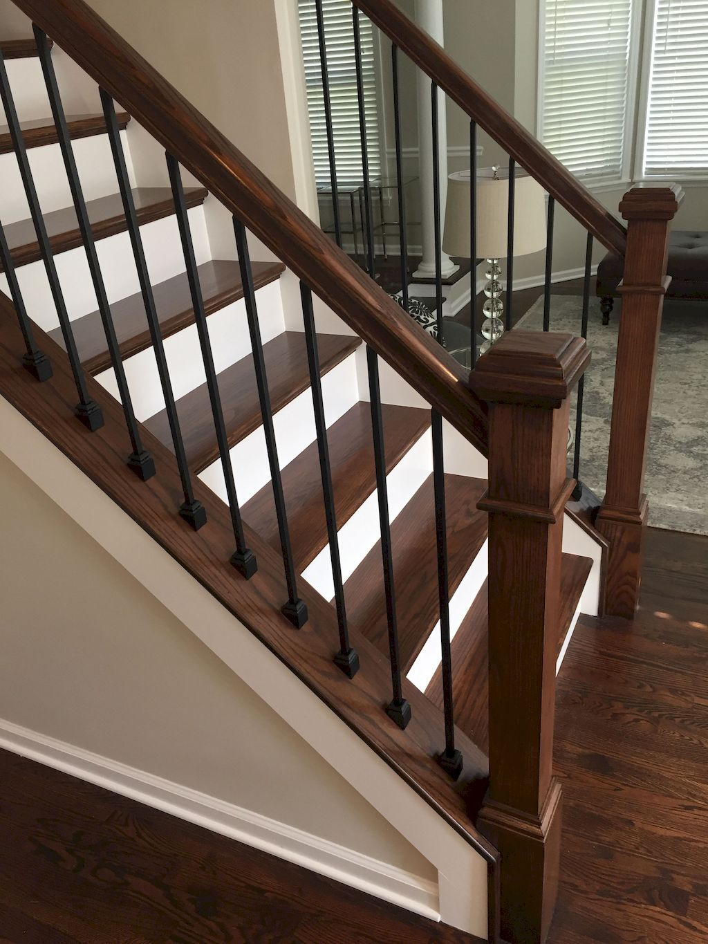 Staircase Railing221 - Home to Z #staircaserailings