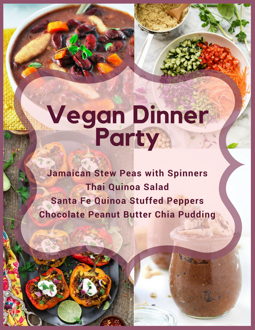 4 Recipe For The Table On Dinner Parties Delicious Vegan