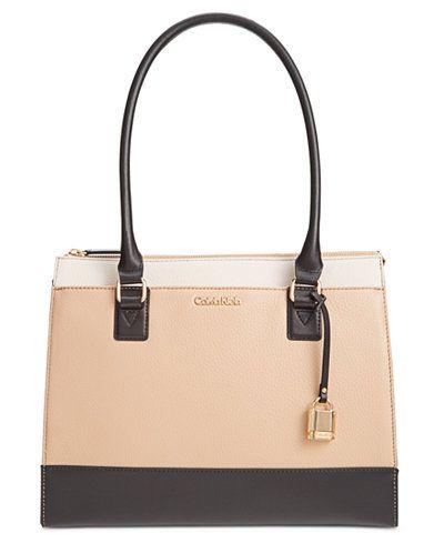 ff8fe3e5826 Calvin Klein Modena Pebble Tote | Work outfits | Tote handbags ...