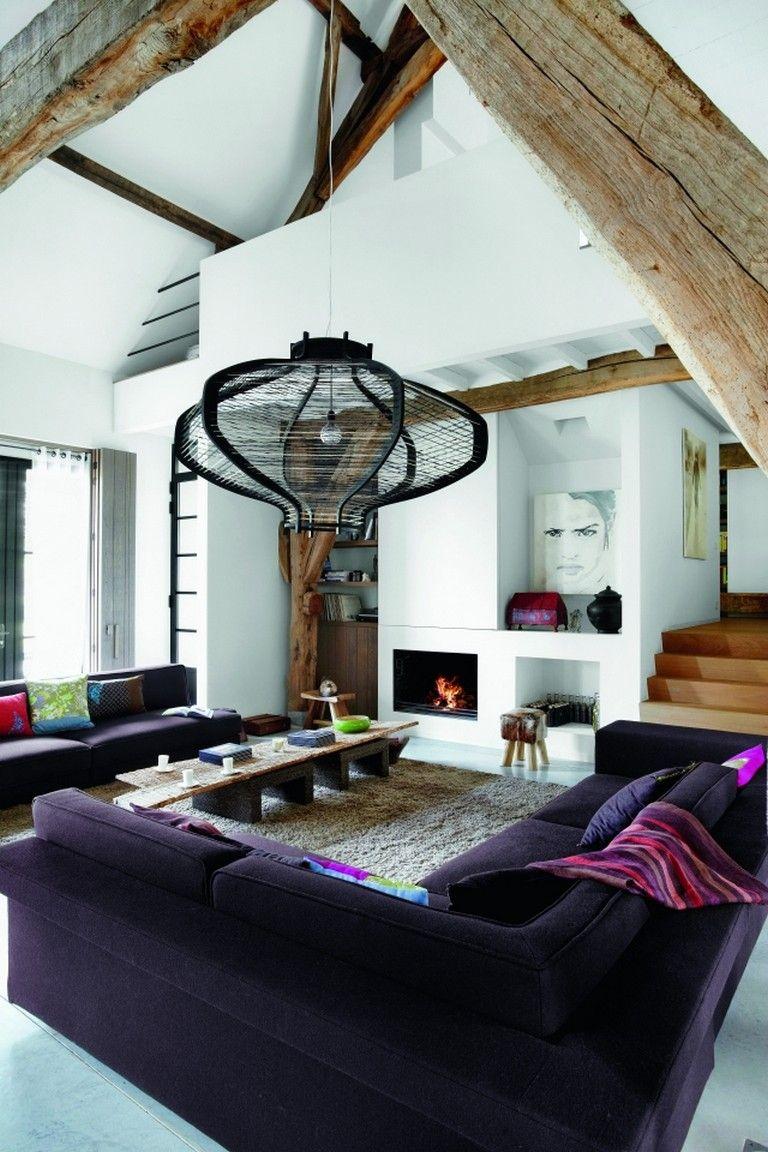 Simplistic Modern Country Loft Design