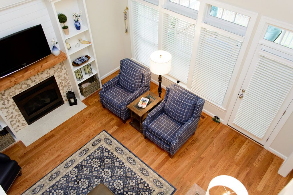 Style by Camara Cozy Roseville Home Renovation- Living ...