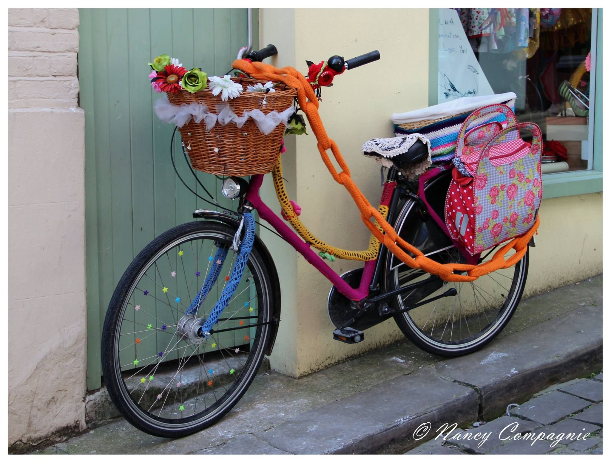 """fiets in Folkestone, door mijn schoonzusje """"gespot"""""""