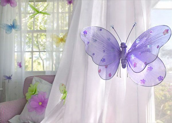 Baby Girl Butterfly Bedroom Ideas handmade kids room decorations, cheap ideas for decorating toddler