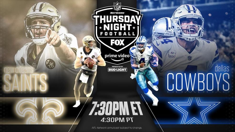 Thursday Final Ratings Saints Cowboys On Fox Nfl Network And