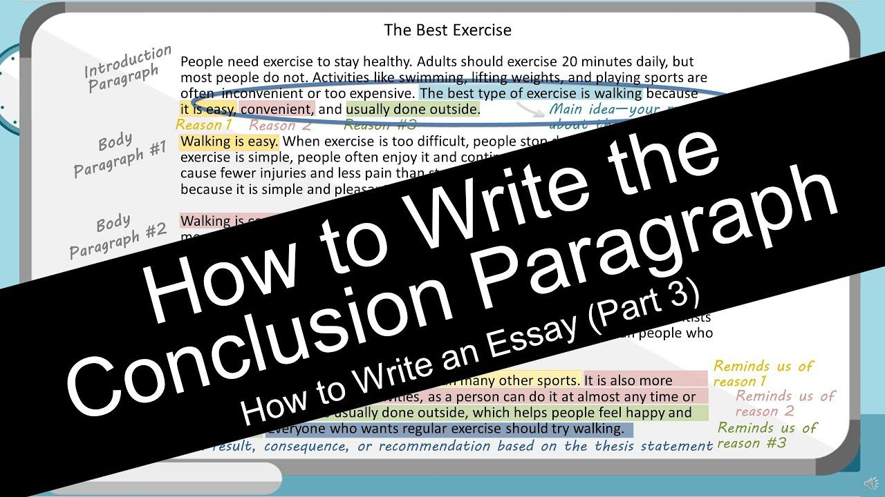 How To Write An Essay Conclusion Paragraph With Worksheet Writing Immigration
