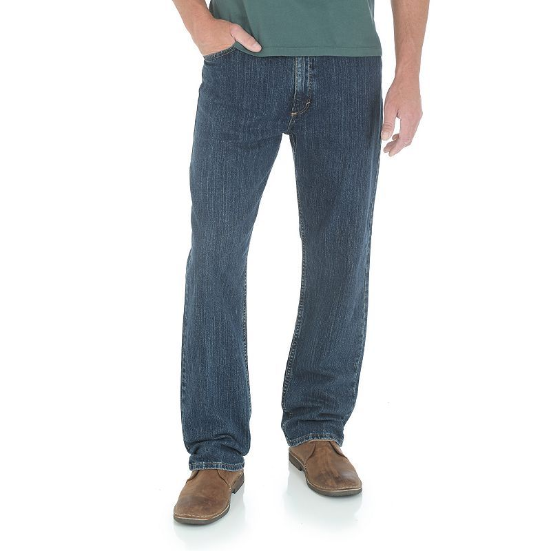 Mens wrangler relaxedfit jeans size 33x32 blue other