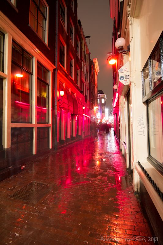 Red Light District, Amsterdam | Travel Places | Amsterdam ...