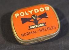 BLECHDOSE  NADELDOSE POLYDOR /D10