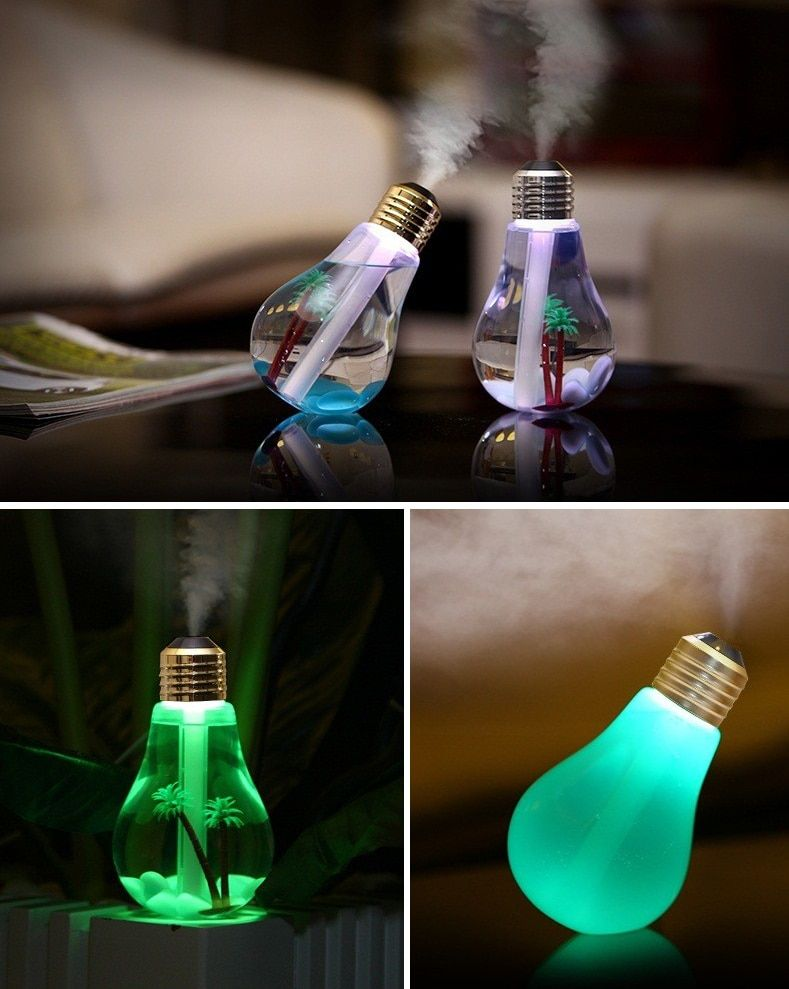 Led Lamp Air Ultrasonic Humidifier For Home Essential Oil Diffuser Atomizer Air Freshener 400mlcheckbestprices Com Lamp Air Freshener Humidifier