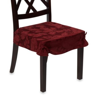 Autumn Harvest Dining Room Seat Covers Set Of 2 Wine Bedbathandbeyond Com Harvest Dining Room Dining Room Seat Covers Dining Chair Seat Covers