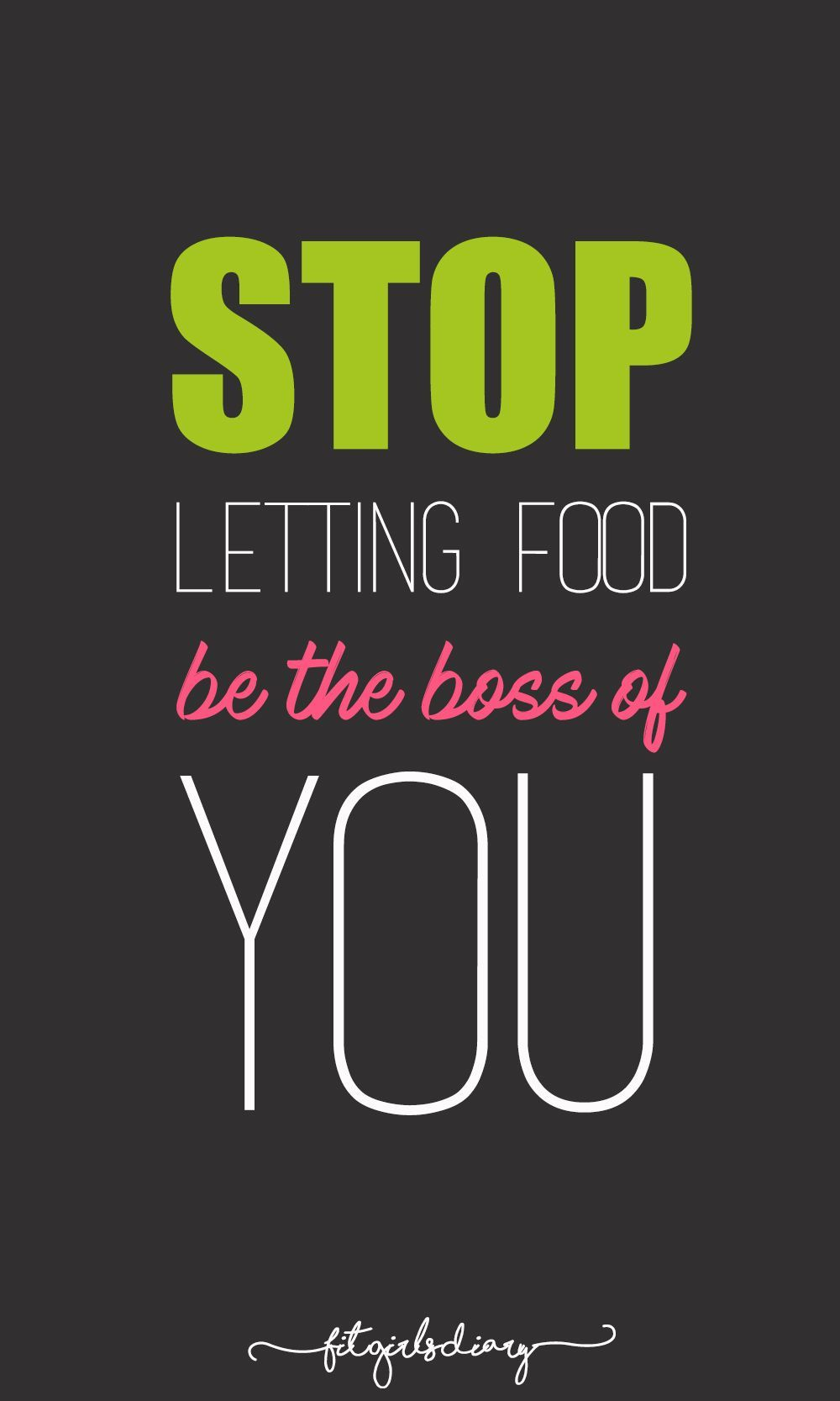 You can enjoy life and loosten up while still eating healthy ...
