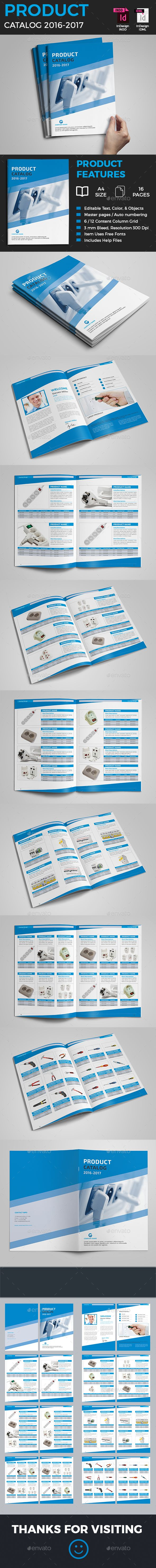 Product Catalog Template — InDesign Template #catalog • Download ...