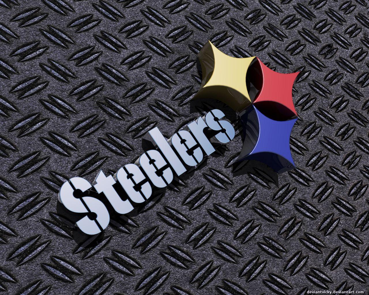 Steelers 3d Wallpaper Steelers 3d By Deviantvicky 1280 X 1024 Pittsburgh Steelers Logo Pittsburg Steelers Pittsburgh Steelers Football