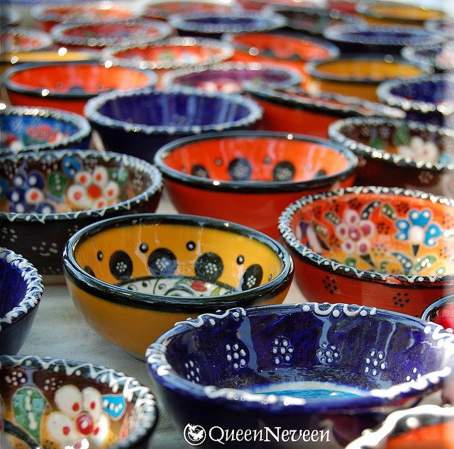Turkish Bowls - there's a little stall at the weekly Brisbane market that has started selling these.