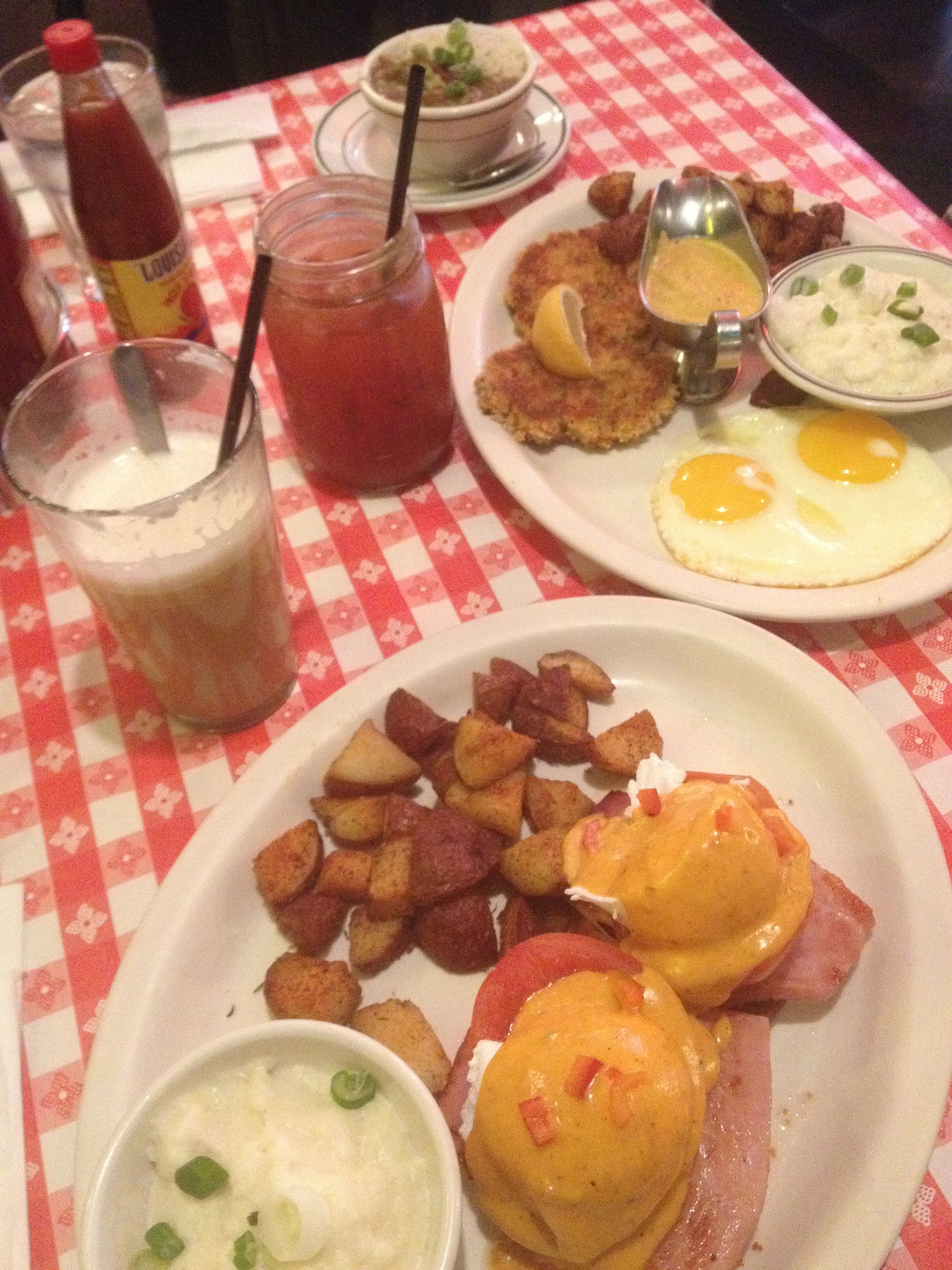 Brunch at Dixie Kitchen and Bait Shop up north in downtown ...