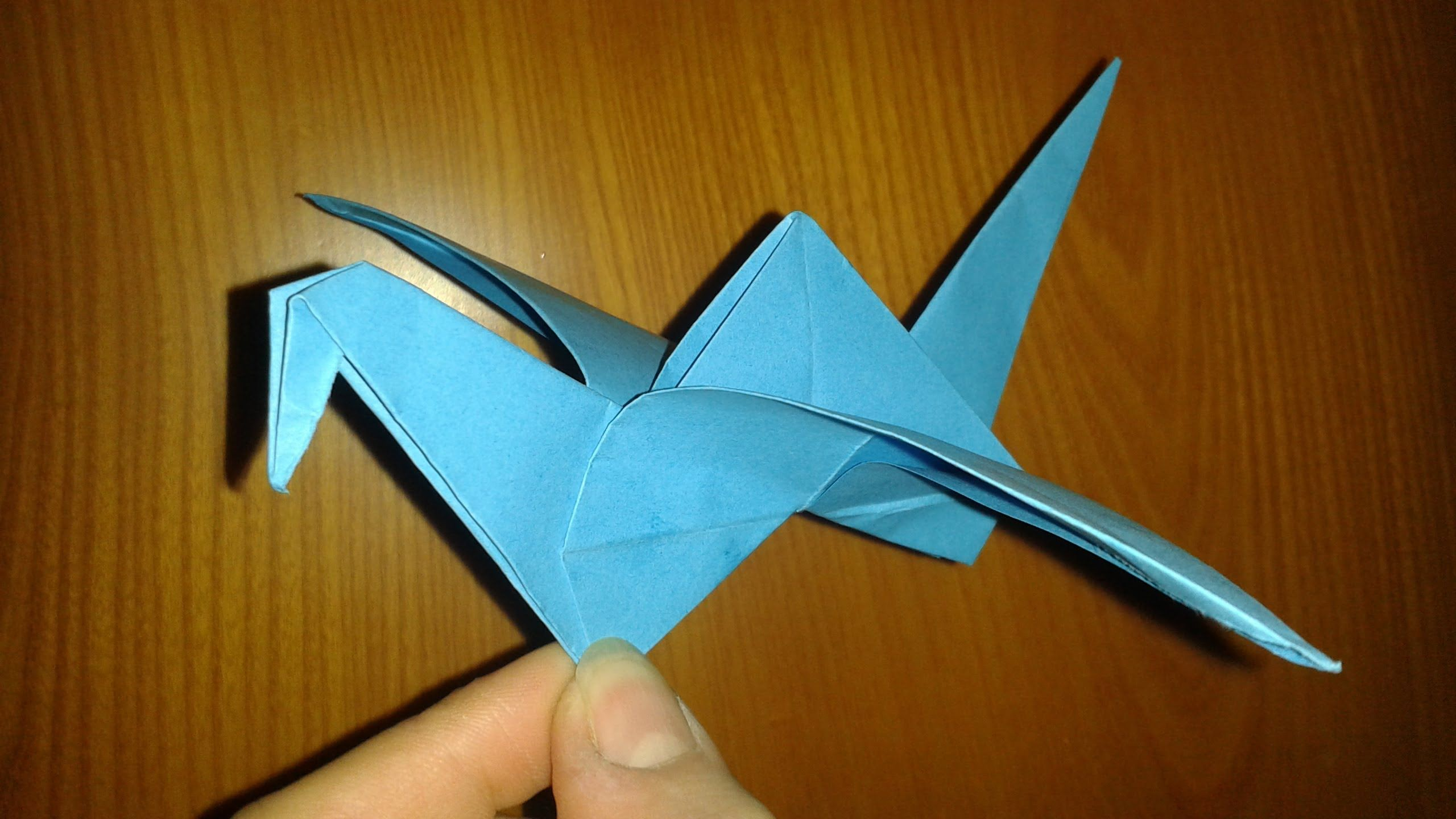 Origami Uccellino Che Vola Facile Origami Uccellini E