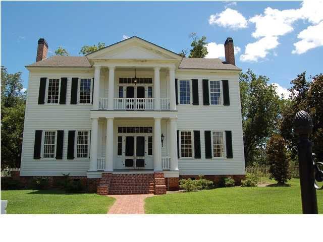 Image Result For Elizabeth Homes Llc Prattville Alabama Pricing Greek Revival Greek Revival Home Old House Dreams