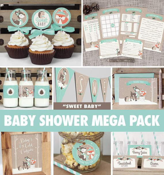 save over 50% with the baby shower mega pack! everything you need, Baby shower invitations