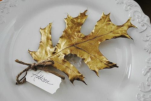 10 DIY Thanksgiving Place Card Ideas- A Cultivated Nest -   19 diy thanksgiving cards easy ideas