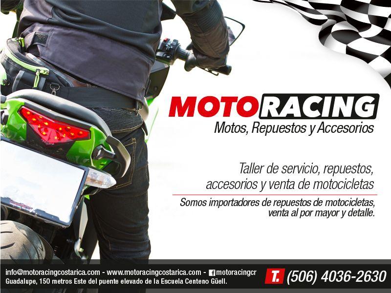 Motoracing es motos repuestos accesorios y taller para for Accesorios para piscinas costa rica