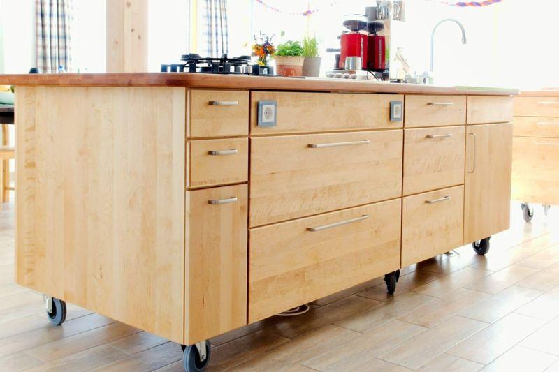 Kücheninsel selber bauen  Kücheninsel selber bauen – Ideen für kreative Küchengestaltung ...
