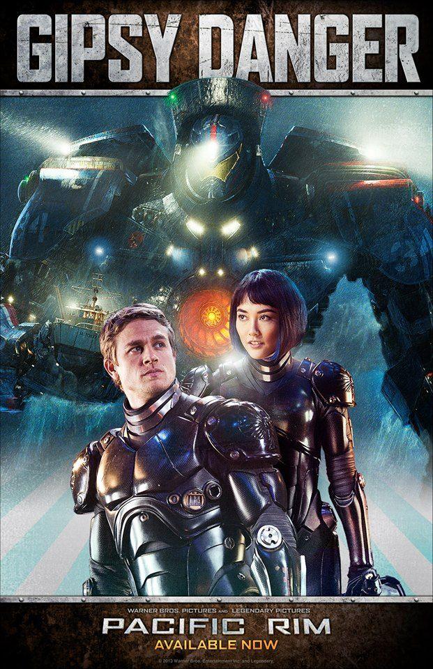 Pacific Rim Kaiju Poster Gipsy Danger Poster fa...
