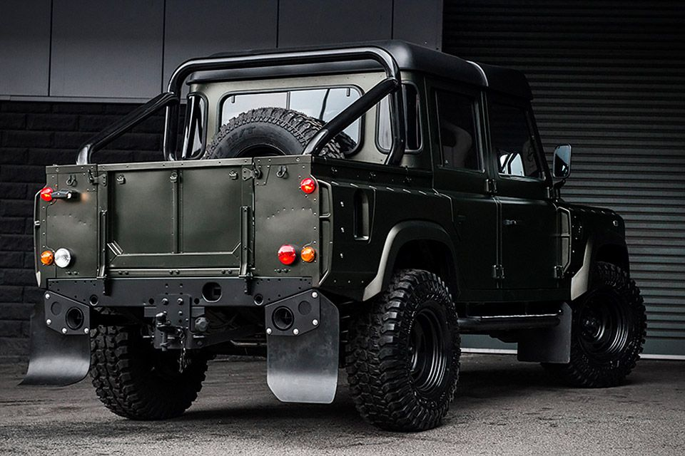 Land Rover Truck >> Kahn Land Rover Defender Double Cab Truck Land Rover