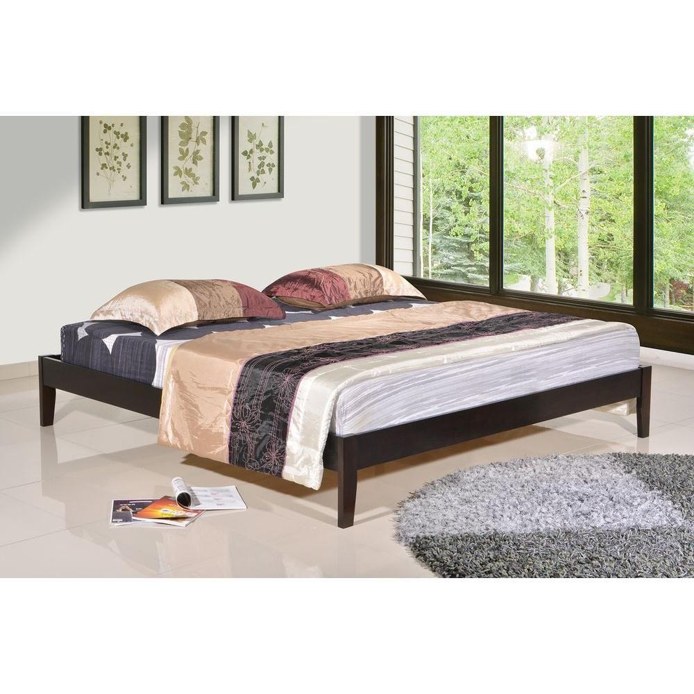 Manhattan Queen Wood Platform Bed Products Wood Platform Bed