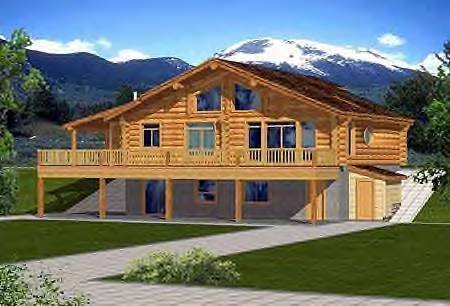 Two Story House Plan With Walkout Basement Ranch House Plans