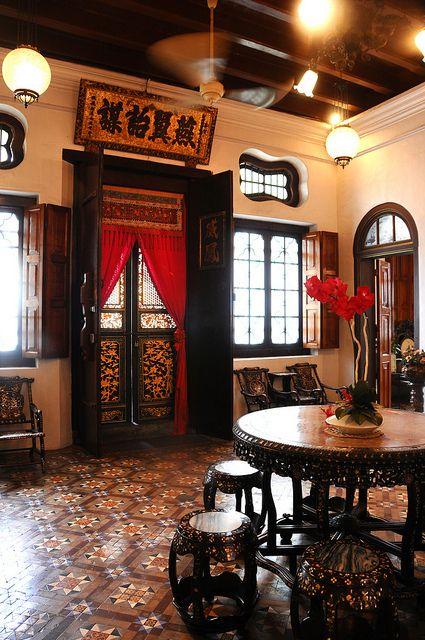 Interesting House Exterior Design In Kulai Malaysia: สถาปัตยกรรมจีน, บ้านโมเดิร์น, ตกแต่งภายใน