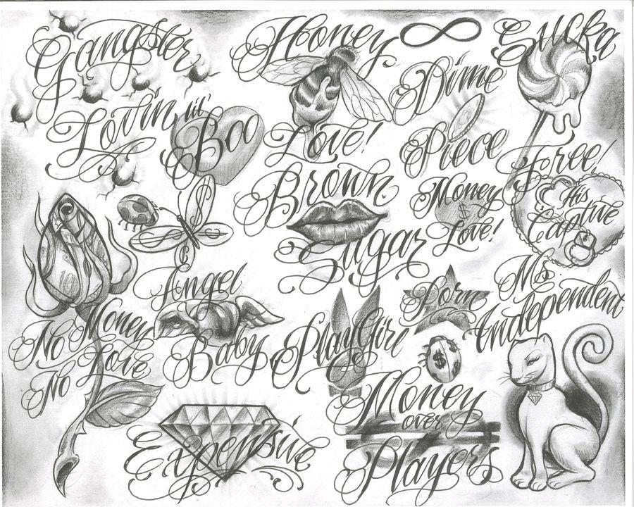 Gangster Tattoo Drawings Trelatatoo Tattoo Flash Tattoo