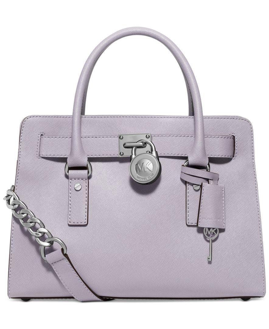 28bdeb51e5f9 TEAL Michael Kors Hamilton Saffiano Leather East West Satchel - Handbags &  Accessories - Macy's