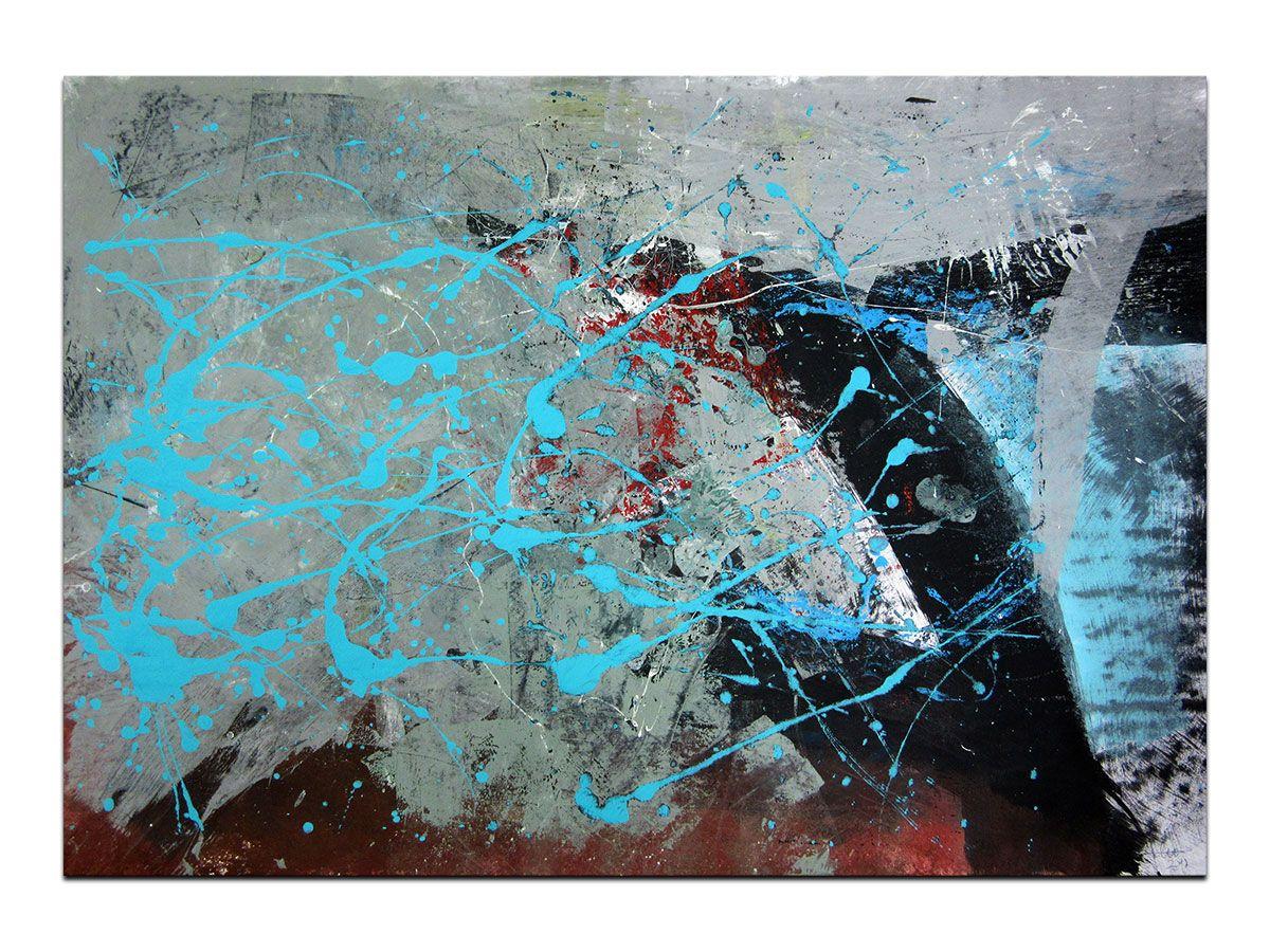 Moderne Slike U Galeriji Mag Apstraktna Slika Pokraj Tebe