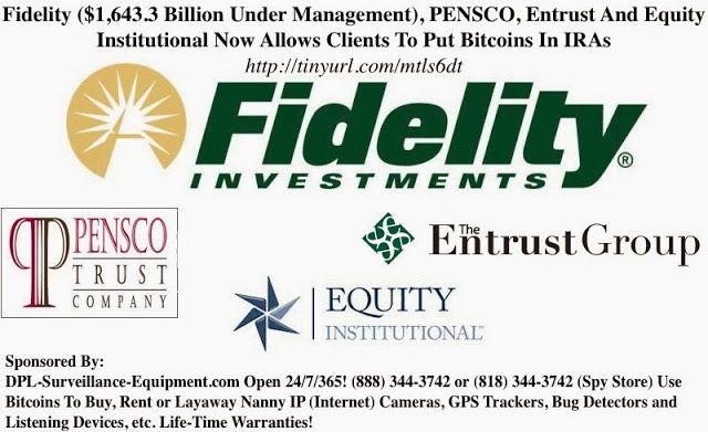 Self Directed Ira Fidelity >> Fidelity 1 643 3 Billion Under Management Pensco