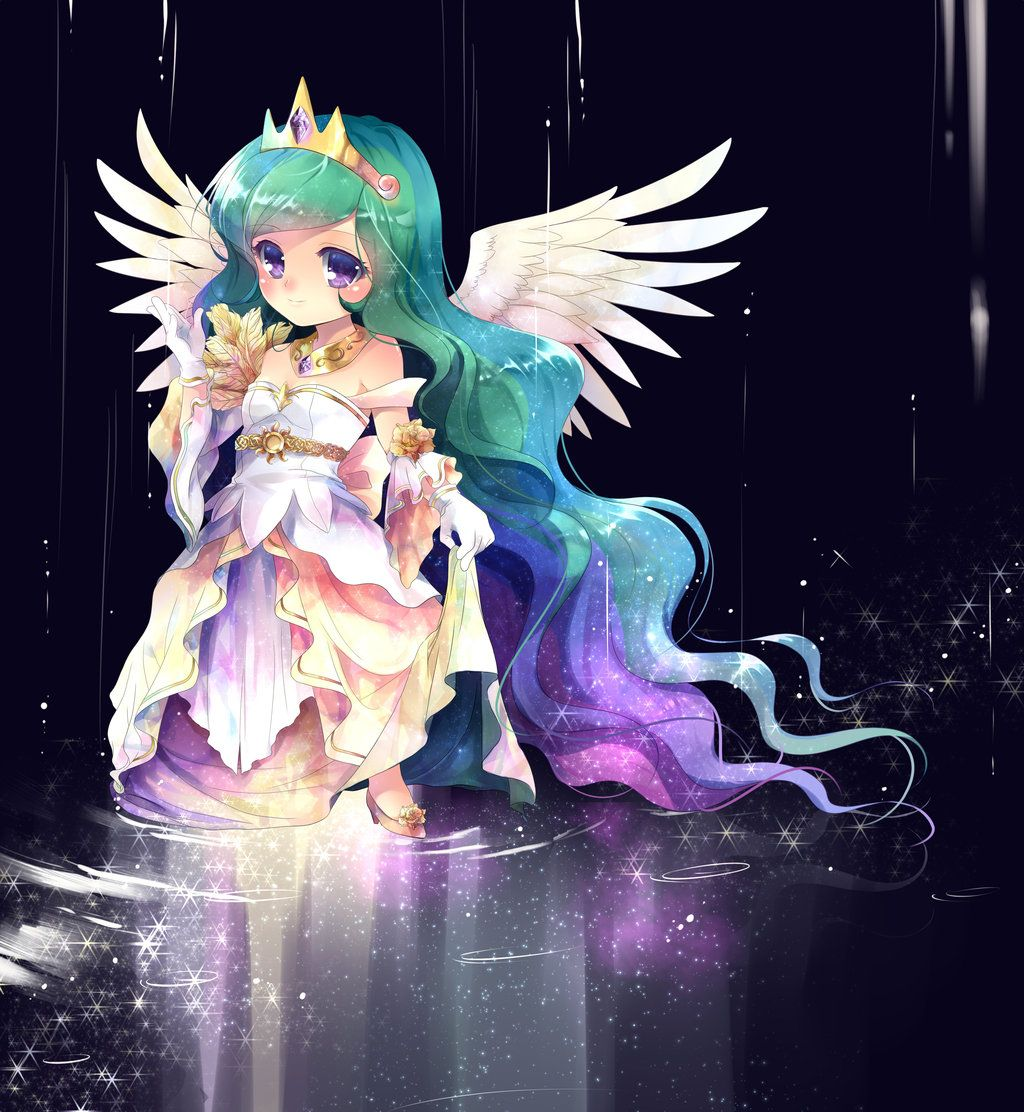 human baby princess celestia my little pony pinterest