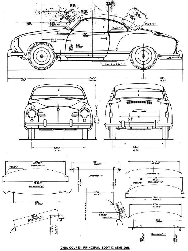 dimensions.jpg 800×1,068 pixels | Karmann Coupe | Pinterest | Vw ...