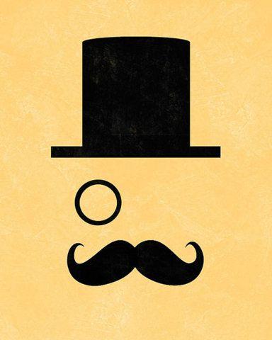 Chapeau monocle et moustache isla bonita mexico - Moustache dessin ...