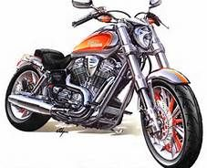 Harley Davidson Motorcycles Drawing Bing Images With Images