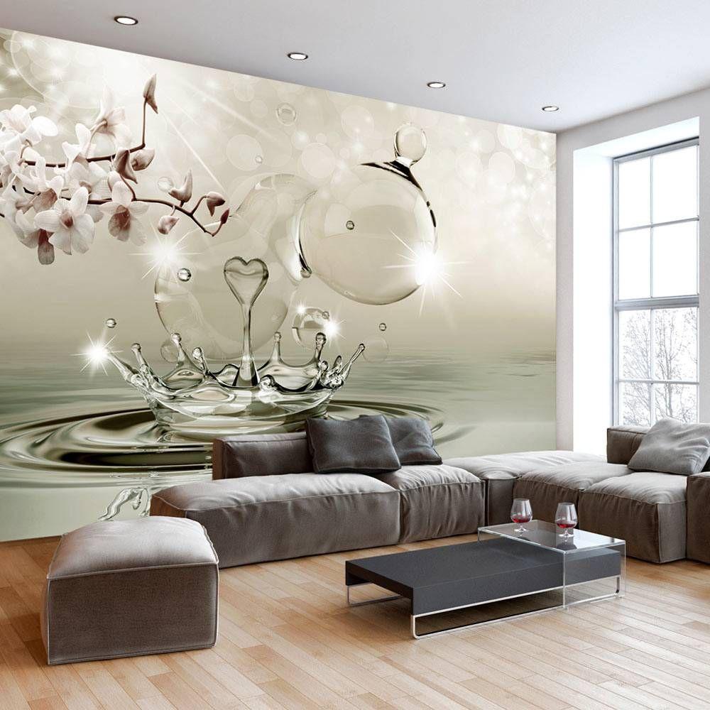 ordinary einfache dekoration und mobel individuelle fototapeten fuer die wohnung 2 #1: VLIES FOTOTAPETE * 3 Farben zur Auswahl * TAPETEN ORCHIDEE BLUME  b-C-0283-c-c