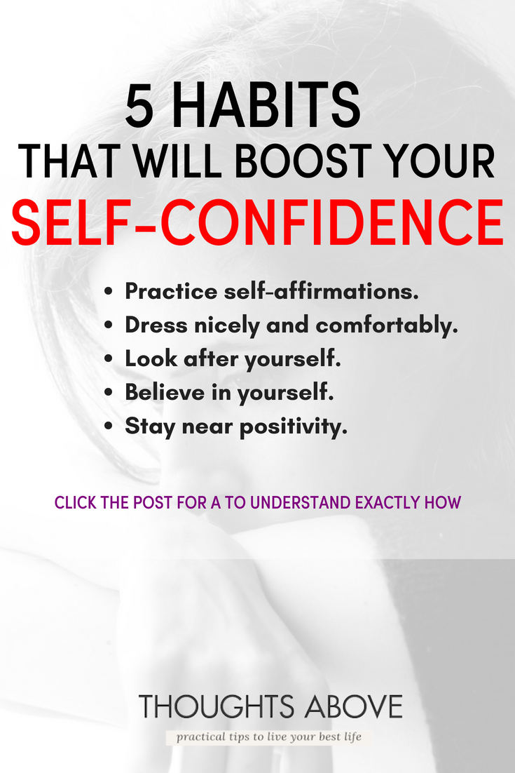 How To Boost Self confidence 5 Easiest Steps Ever