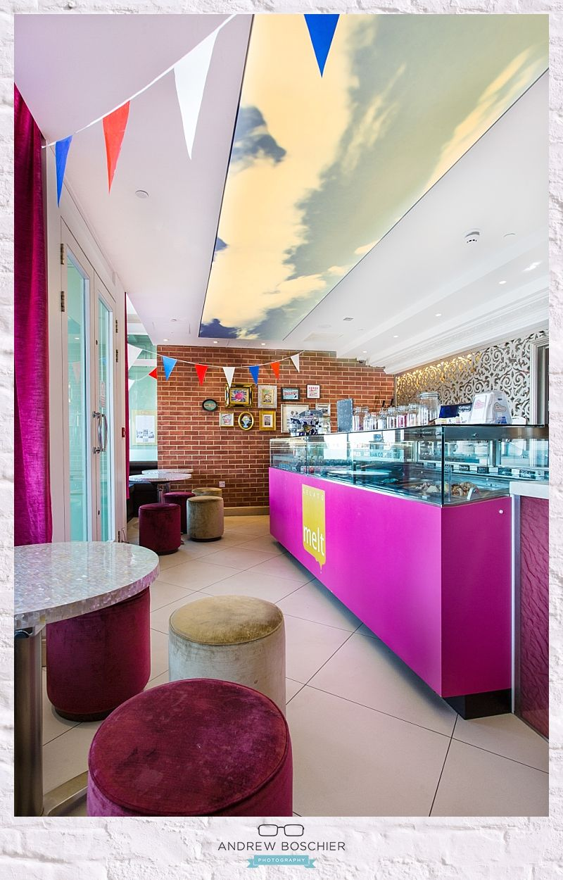 Inara interiors melts ice cream parlour sands hotel margate