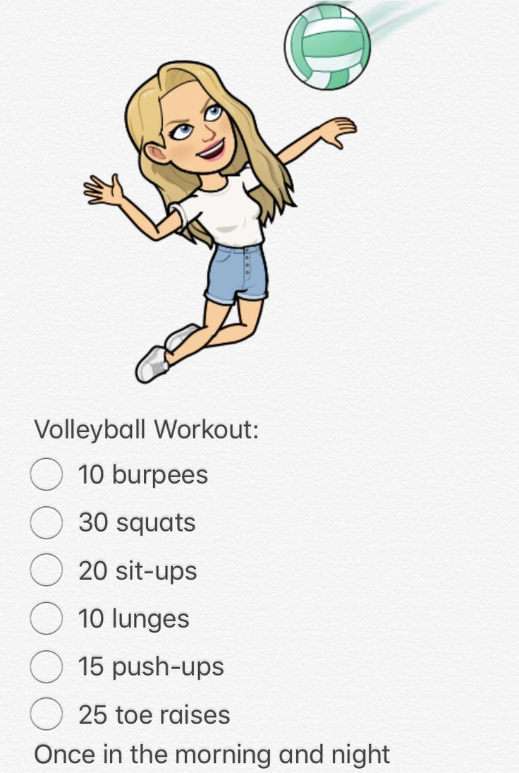 Volleyball Workouts For Hitters