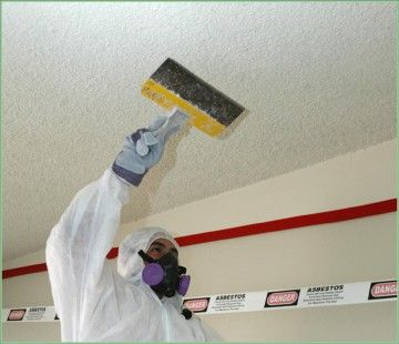 Asbestos popcorn ceiling asbestos removal contractors nj for Is there asbestos in drywall