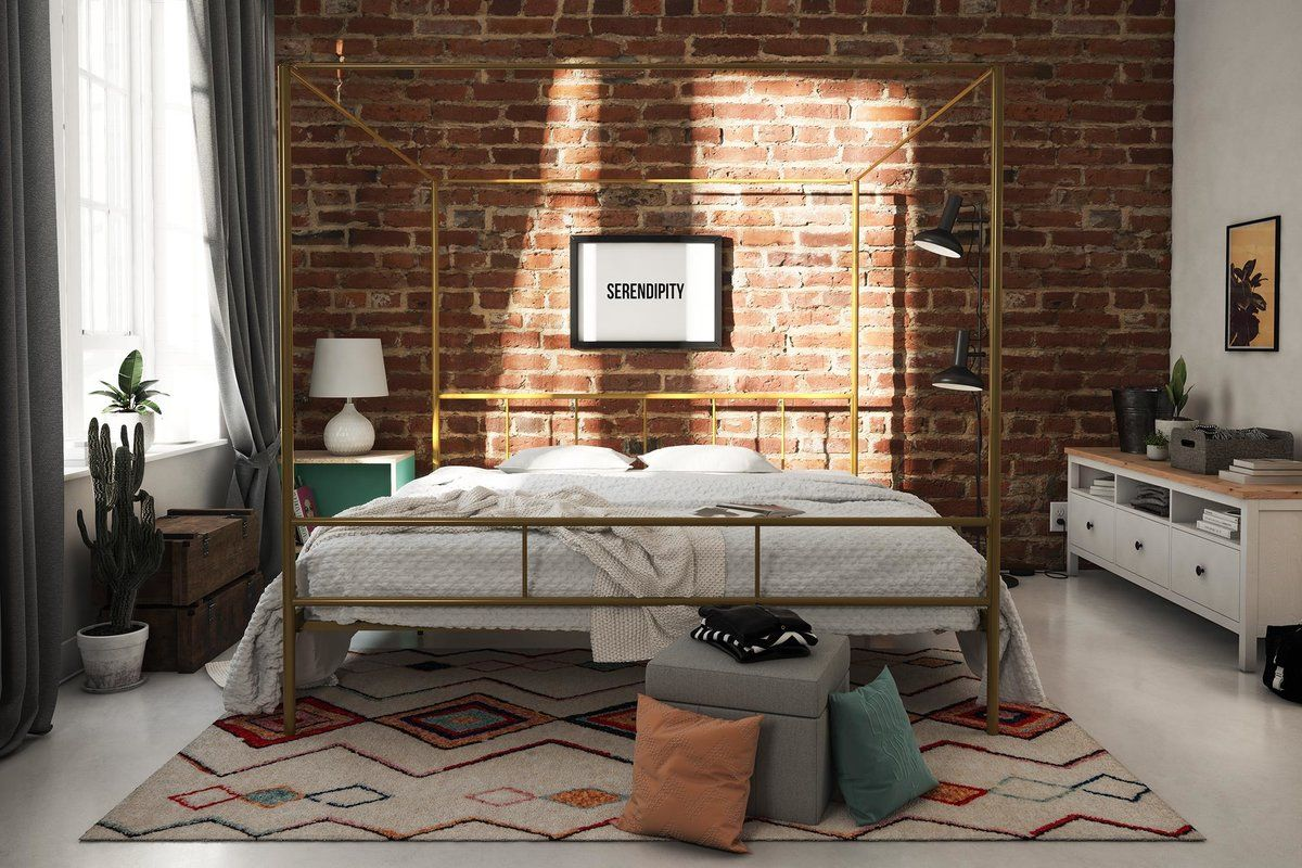 Marion Canopy Bed In 2019 Bright Studio Idea Canopy Bed Frame